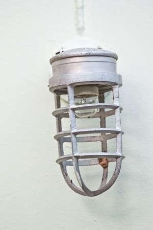 wall lamp on brick wall background Stock Photo - 22709248