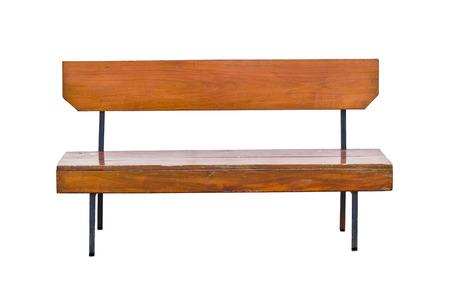 bench park: banco de parque de madera en un parque
