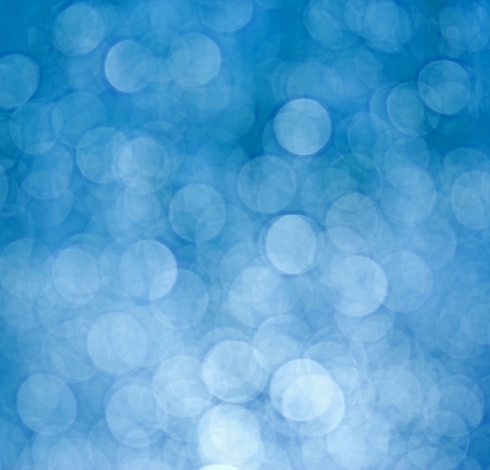 Circular bokeh background photo