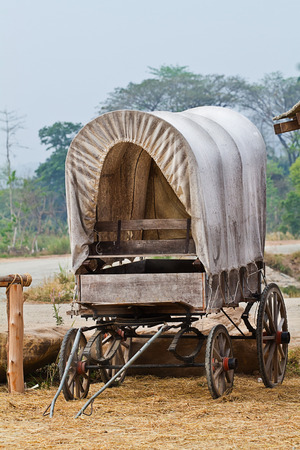 Wild West cart photo
