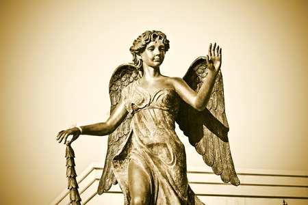 grave site: guardian angel