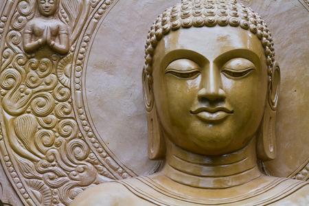 budda: buddha statue in pagoda