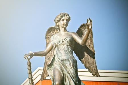 angelo custode: angelo custode Archivio Fotografico