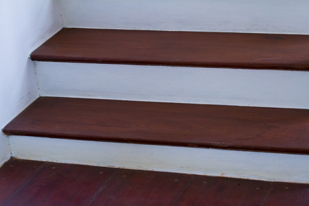 Staircase interior at home photo
