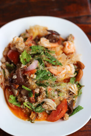 Vermicelli Salad. photo