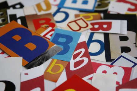 az: Text  A-Z Background Paper Front Design ABC Color Stock Photo