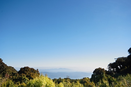 Views of the Mountains of Northern Thailand. Doi Inthanon photo