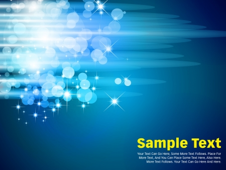 Abstract background in blue colors with unique conception and perfect design. Vector
