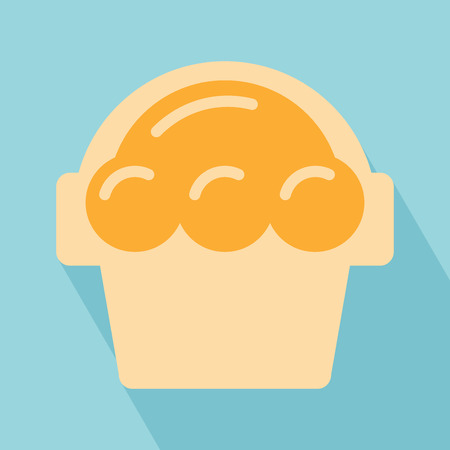 Sweet Icon  Dessert Icon  Sweet Icon on light blue Background  Vector