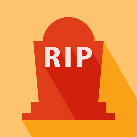 Halloween RIP Grave Icon
