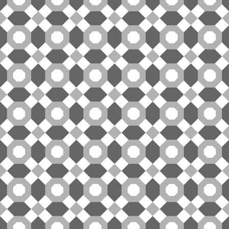 octagon: Seamless pattern of the octagon vector. Octagon pattern. Octagon seamless pattern. Black octagon pattern background. Octagons pattern Elements for design. All in a single layer. Vector illustration. Illustration