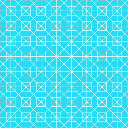 White octagon shape pattern background. Seamless octagon vector pattern. Elements for design.