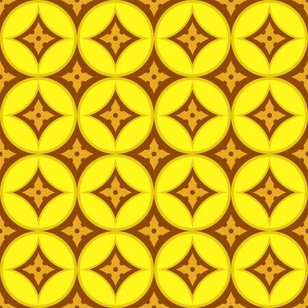 Geometric Pattern Seamless. Seamless gold geometric pattern. All in a single layer. Vector illustration. Illustration