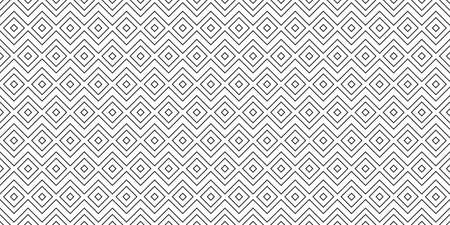 Geometric Pattern Seamless. Seamless black geometric pattern. All in a single layer. Vector illustration. 向量圖像