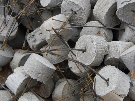 Concrete convering photo
