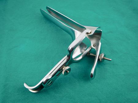 speculum: Metal Gynecologic Speculum