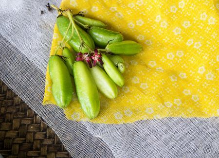 bilimbi: Bilimbi (Averhoa bilimbi Linn.) or cucumber fruits