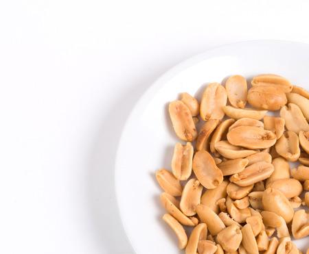 shelled: shelled peanuts Stock Photo