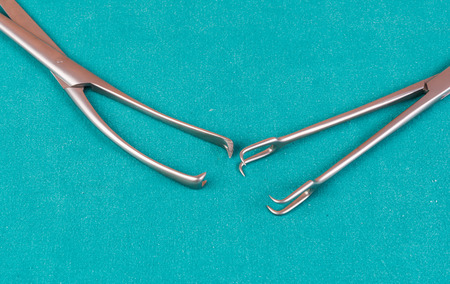 Surgical instruments closeup