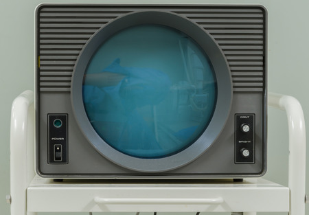 Old xray monitor , Retro