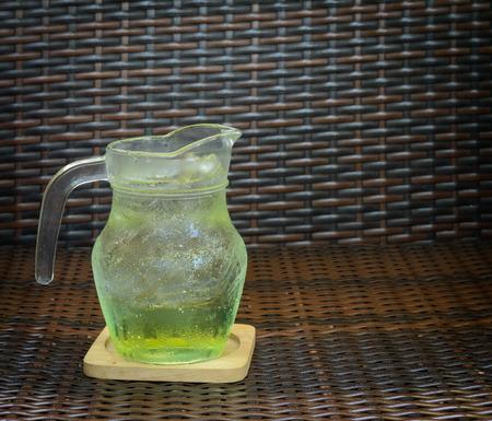 apple juice soda photo