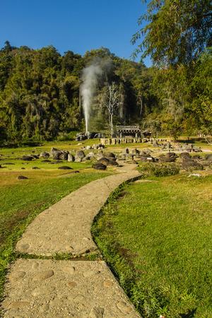 fang: Fang Hot Springs Mae Fang National Park , Mon Pin, Fang, Chiang Mai, Thailand
