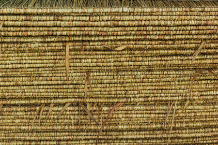 pattern of thatch roof texture background photo