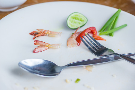 unsanitary: Dishes that have not been washed