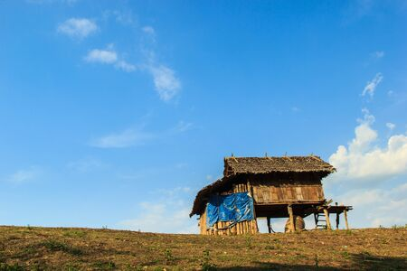 shanty: Shanty in rural northern of Thailand Stock Photo