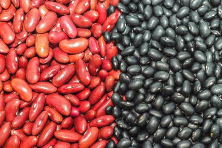 adzuki bean: Black adzuki bean with red bean