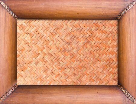 bambu: Placa de bambú aisladas sobre fondo blanco