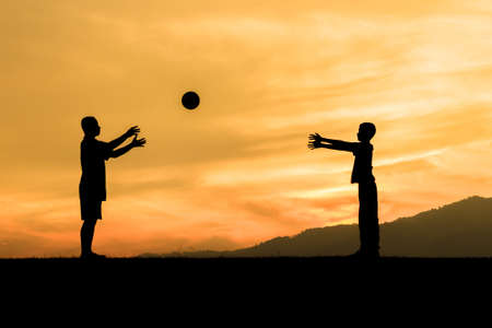 intent: children playing sports