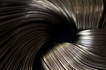 Abstract Picture of Multi Layer Parts Metal. 写真素材