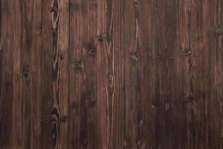 Schöner hölzerner Hintergrund, dunkelbraune und gealterte Oberflächennaturbeschaffenheit. Standard-Bild