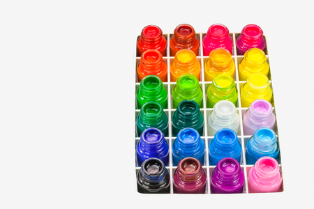 Poster color for student range cheap price easy to paint for student. color are bold bright and opaque. They are easy to mix, flow easily and dry quickly making painting a delightful experience.