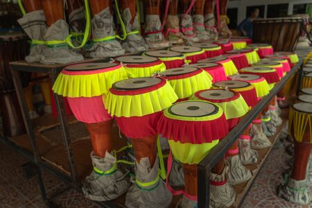 Long drum is a drum that is very popular in Thailand.