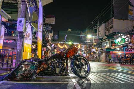 Phuket,Thailand - November 06,2020:During the time of the coronavirus outbreak, tourist destinations were sluggish. The Walking Street at Soi Bangla, Patong, Phuket has encouraged tourism to return. 新闻类图片
