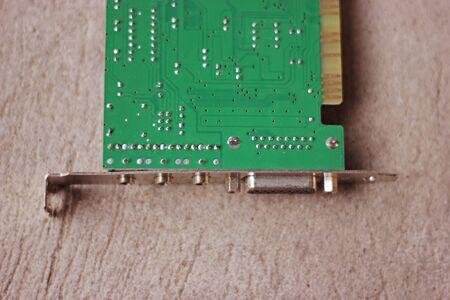 LAN Card Stock Photo