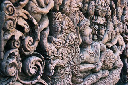 Shiva carved figure. In Brahmanism.