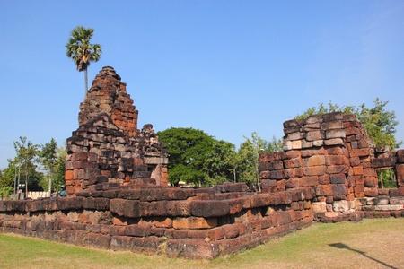 Ancient pagodas Stock Photo