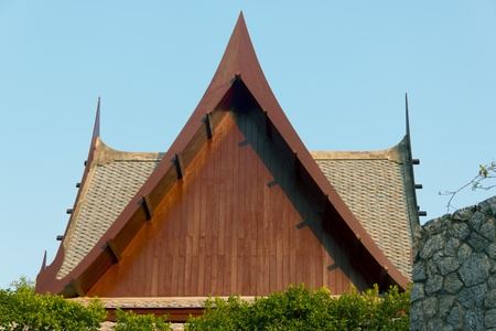 Housetop, Roof of the East Asian culture  Stock Photo - 13408372