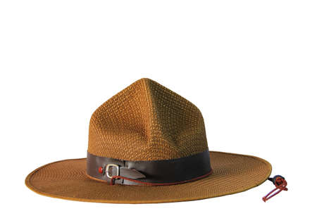 cowboy hat isolated on white close up shoot  Stock Photo - 14152507