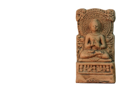 The art of Asian statue style in Hinduism doctrine isolated on white background Stock Photo - 14152529