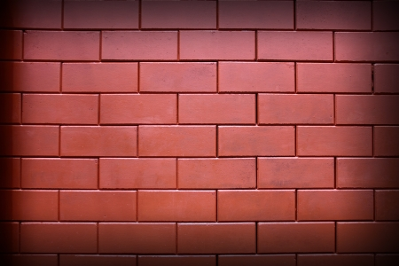 Image for the background  Red brick wall, square format Stock Photo - 14342466