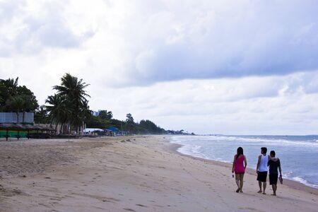 Walks on the beach Stock Photo - 17067908