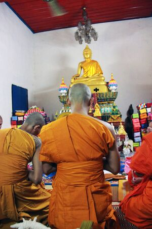 ordinate: Buddhist monk  Editorial