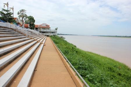 Riverside amphitheater  Stock Photo