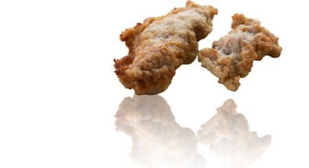 Fried chicken Food for the supermarkets sell. Stock Photo