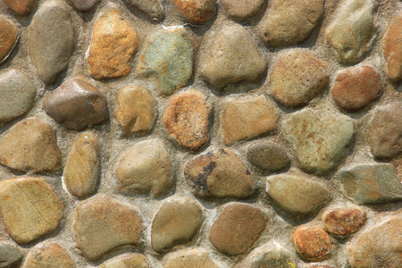 The stone wall For background Stock Photo