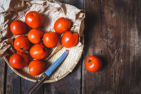 Red Tomatoes Banco de Imagens
